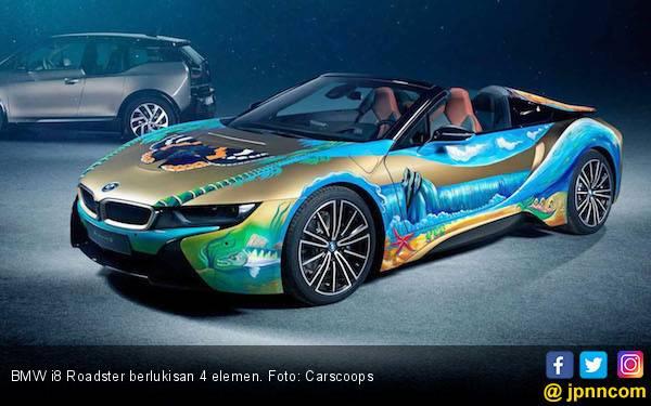 BMW i8 Roadster Berlukiskan 4 Elemen Dilelang, Mau? - JPNN.com