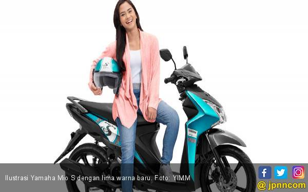 Yamaha Mio S Tambah Warna Baru, Harga Rp 16,3 Juta Lebih - JPNN.com