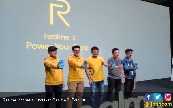 Realme 3 Meluncur di Indonesia, Berikut Harganya - JPNN.com