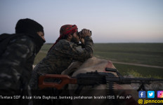 SDF Gempur Benteng Terakhir Kekhalifahan ISIS - JPNN.com