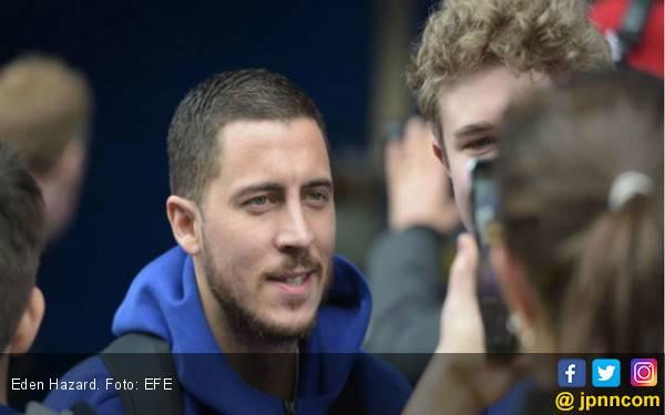 Eden Hazard Berseragam Real Madrid - JPNN.com