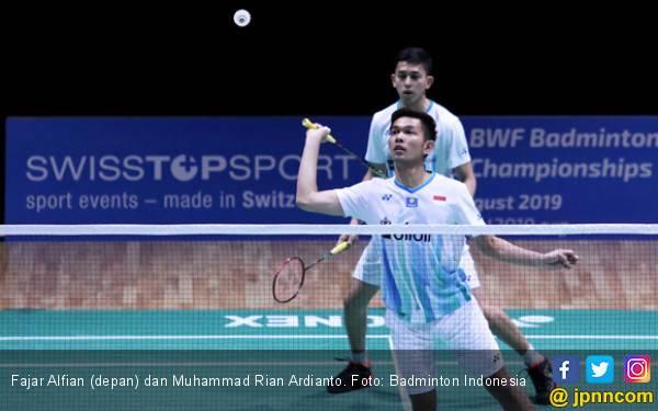 Yes! Fajar / Rian Juara Swiss Open 2019 - JPNN.com