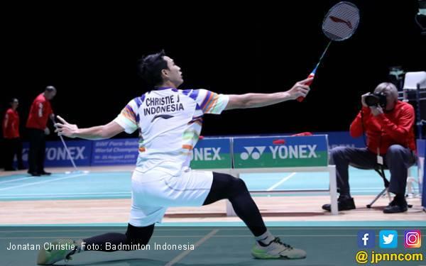 Jonatan Christie Tembus 16 Besar Swiss Open - JPNN.com