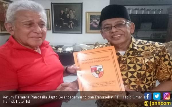 Jamu Habib Umar, Japto Tegaskan Hubungan Baik FPI - PP - JPNN.com