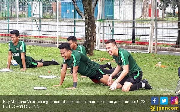Egy dan Ezra Bergabung, Persaingan Lini Depan Timnas U-23 Kian Ketat - JPNN.com