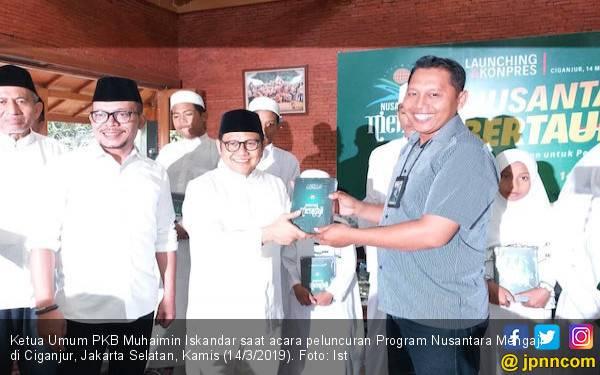 Meredam Tensi Politik Jelang Pemilu, PKB Luncurkan Program Nusantara Bertauhid - JPNN.com