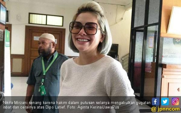 Saksi Absen, Sidang Cerai Nikita Mirzani Ditunda - JPNN.com