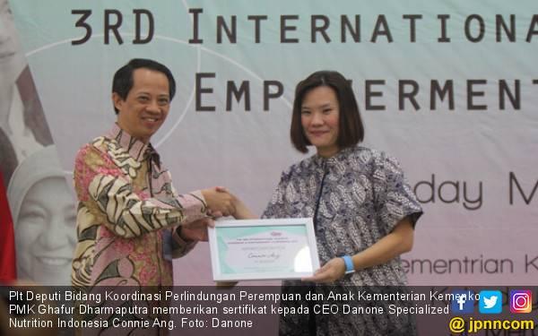 Cara Danone Indonesia Dukung Pemberdayaan Wanita di Lingkungan Kerja - JPNN.com