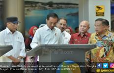 Presiden Jokowi Resmikan Terminal Baru Bandara Depati Amir - JPNN.com