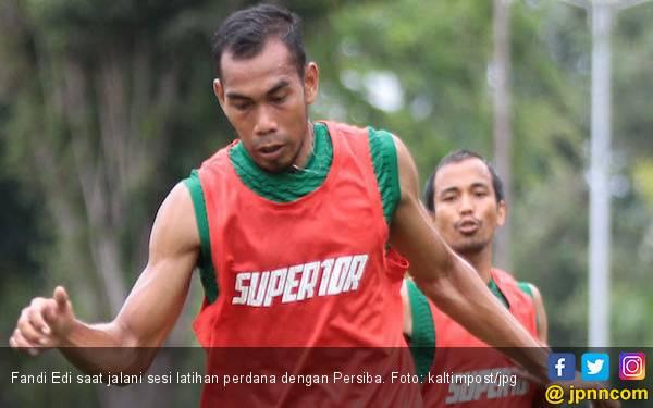 Fandi Edi Jalani Latihan Perdana dengan Persiba - JPNN.com