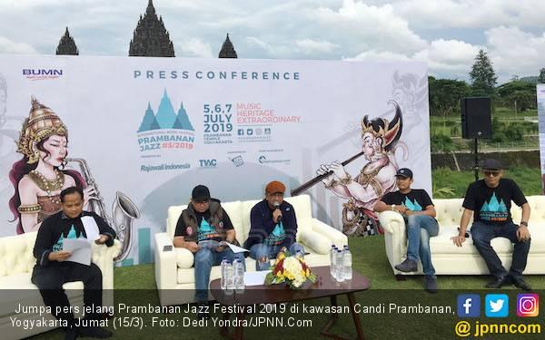 Ini Jadwal dan Pengisi Acara Prambanan Jazz 2019 - JPNN.com