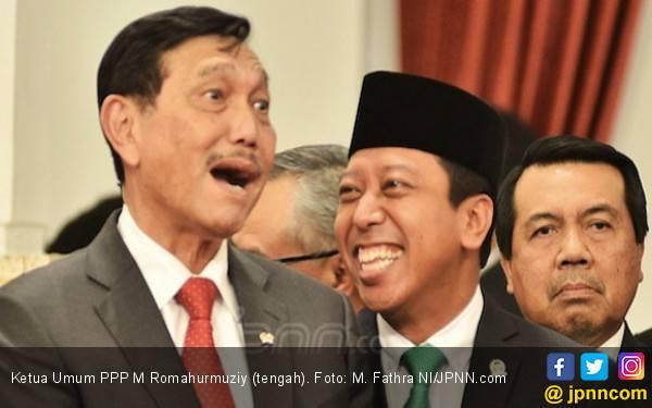 Romahurmuziy Diciduk KPK, Erick Thohir Bilang Tak Pengaruhi Elektabilitas Jokowi - JPNN.com