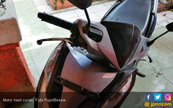 2 Maling Motor ini Pura-pura Pesan Kopi dan Mi, Hasilnya.. - JPNN.com