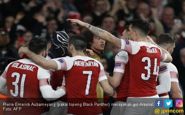Black Panther Bawa Arsenal ke Perempat Final Liga Europa - JPNN.com