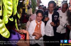 Sebelum Bagikan Ribuan KIP untuk Pelajar, Jokowi Blusukan ke Pasar Balige - JPNN.com