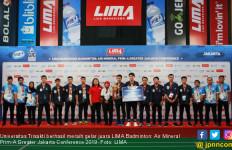 Trisakti Pede Kawinkan Gelar LIMA Badminton Nationals - JPNN.com