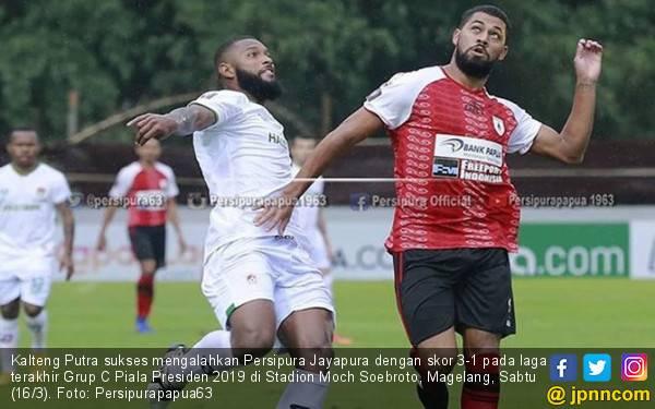 Kalteng Putra 3-1 Persipura: Patrich Wanggai Merajalela - JPNN.com