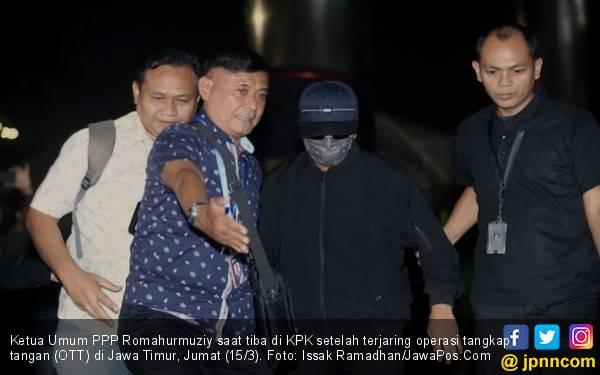 Romahurmuziy Punya Status Baru, Tersangka Korupsi - JPNN.com