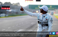 Lewis Hamilton Rebut Pole F1 Australia 2019, Rekor Baru - JPNN.com