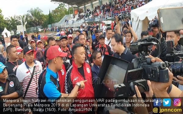 Liga Berjenjang Piala Menpora Pakai VAR, PSSI Disarankan Ngikut - JPNN.com