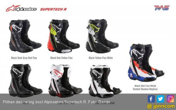 Alpinestars Supertech R Replika Pembalap MotoGP, Harga Rp 8,9 Juta - JPNN.com