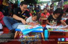 GarudaFood Ajak Ratusan Siswa SD Aktif fi Berbagai Kegiatan Kesenian - JPNN.com