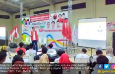 TMP Bujuk Milenial Jabar Majukan Indonesia Bersama Jokowi - Ma'ruf - JPNN.com