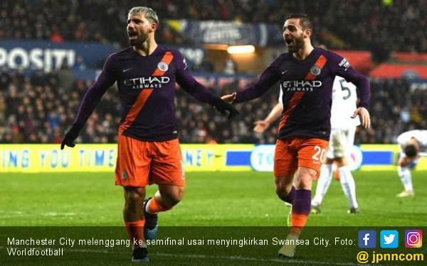 Piala FA: MU Gugur, Manchester City Tembus ke Semifinal - JPNN.com