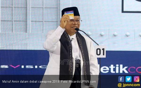 Ma'ruf Amin: Orang Tua Tak Usah Khawatir, Anak-Anak Jangan Takut Bercita-cita - JPNN.com