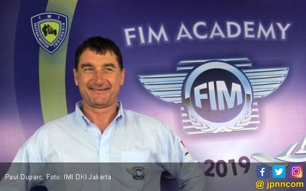 Petinggi FIM Paul Duparc Berbagi Ilmu di Sentul - JPNN.com
