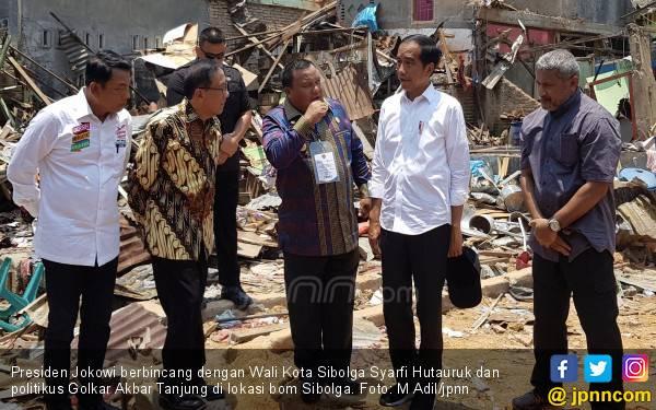 Jokowi Lihat Langsung Kehancuran Akibat Bom Sibolga - JPNN.com