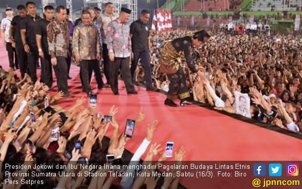 Jokowi: Sumut adalah Miniaturnya Indonesia - JPNN.com