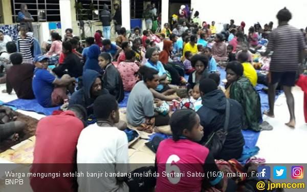 Belum Semua Daerah Terdampak Banjir Bandang Sentani Bisa Dijangkau - JPNN.com