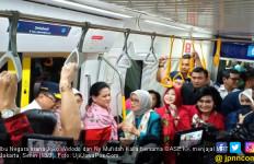 Halo, Bu Iriana Ajak OASE KK Jajal MRT Jakarta - JPNN.com