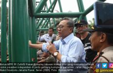 Temui Pedemo, Ketua MPR Ajak Ciptakan Pemilu yang Damai dan Menggembirakan - JPNN.com