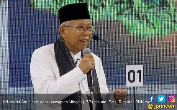 Azrul: Kiai Ma'ruf Tidak Akan Jadi Penunggu Gardu Jokowi - JPNN.com