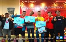 Almisbat Galang Suara Milenial untuk Jokowi Lewat Stand Up Comedy - JPNN.com