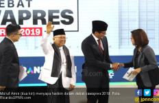 Netizen Terpesona dengan Performa Ma'ruf Amin dalam Debat Cawapres - JPNN.com