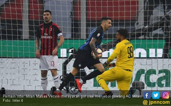 Hancurkan AC Milan, Inter Milan Memang Istimewa, Muach, Muach, Muach - JPNN.com
