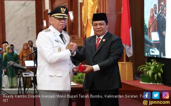 Selamat, Ready Kambo Dilantik Jadi Wakil Bupati Tanah Bumbu - JPNN.com