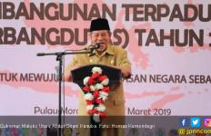 Infrastruktur Perbatasan Digenjot, Gubernur Malut Ucapkan Terima Kasih ke Jokowi - JPNN.com