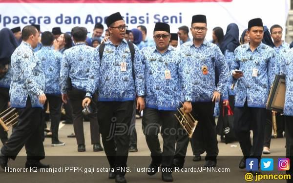 Banyak Honorer K2 Ikut Tes PPPK Tahap II - JPNN.com