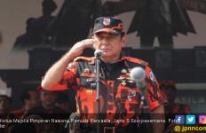 Didampingi Bamsoet, Bos Pemuda Pancasila Temui Jokowi di Istana - JPNN.com