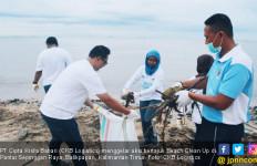 CKB Logistics Galakkan Aksi Jaga Lingkungan via Beach Clean Up - JPNN.com