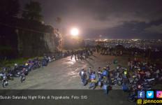 Suzuki Saturday Night Ride Yogyakarta Dibanjiri 700 Bikers - JPNN.com