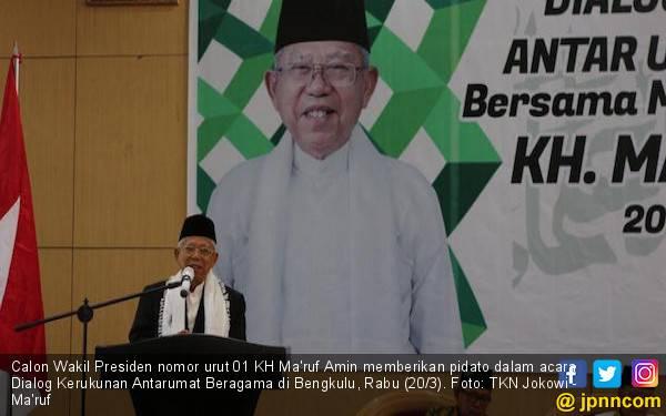 Empat Saran dari Kiai Ma'ruf agar Indonesia Tetap Rukun - JPNN.com