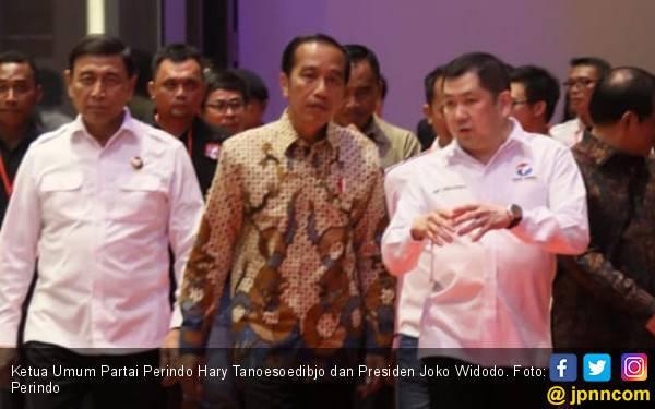 Jokowi Menang Quick Count Pilpres 2019, Hary Tanoe: Mari, Jaga Persatuan - JPNN.com