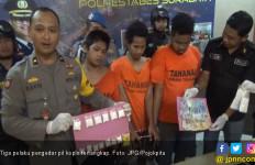 Diinterogasi Polisi, Pengedar Pil Koplo di Kalangan Pelajar Malah Cengar-Cengir - JPNN.com