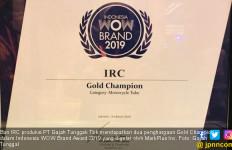 IRC Sabet 2 Gold Champion Indonesia WOW Brand Award 2019 - JPNN.com