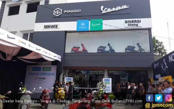 Piaggio - Vespa Tambah Jaringan Lagi di Ciledug - JPNN.com